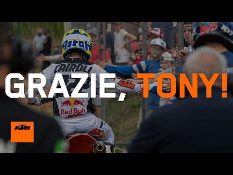 Grazie, Tony! - KTM