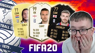 REACTING TO BCFC FIFA 20 PLAYER RATINGS!