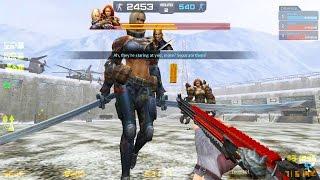 Counter-Strike Nexon: Zombies - Neid & Zavist Zombie boss Fight online gameplay on Envy Mask map