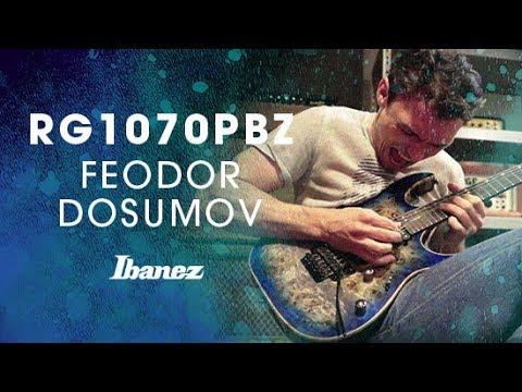 Ibanez RG1070PBZ Premium Cerulean Blue Burst