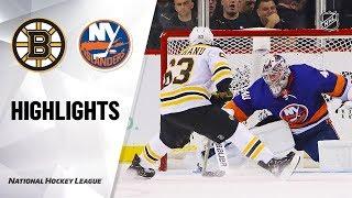 NHL Highlights   Bruins @ Islanders 1/11/20