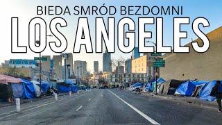 LOS ANGELES - Skid Row - Venice Beach. BEZDOMNI BIEDA I SMRÓD Vlog # 130