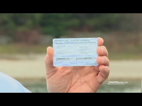 Bob Izumi talks about the Pleasure Craft Operator Card