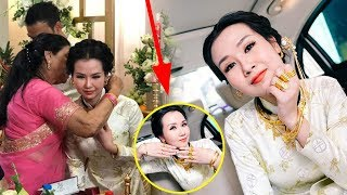 Đám cưới Võ Hạ Trâm gây CHOÁNG với số vàng nặng trĩu trong lễ đón dâu với chồng ấn độ!