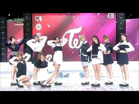 MUSIC BANK 뮤직뱅크 - TWICE 트와이스 - TT.20161028