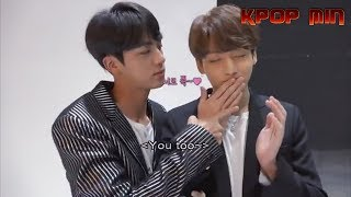 How JUNGKOOK and JIN (정국 & 진 BTS) treat each other