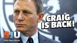 Daniel Craig Confirmed To Return As 007 James Bond! - SJU