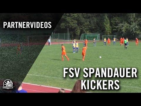 FSV Spandauer Kickers - SFC Stern 1900 II (Landesliga, Staffel 2) - Spielszenen | SPREEKICK.TV