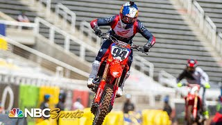 Supercross Round 15 at Salt Lake City | 450SX EXTENDED HIGHLIGHTS | 06/14/20 | Motorsports on NBC