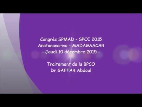Traitement de la BPCO. Dr Abdoul GAFFAR