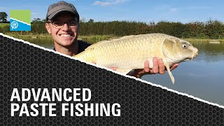 A thumbnail for the match fishing video ADVANCED PASTE FISHING | JOE CARASS