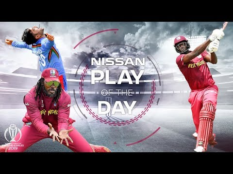 Nissan Play of the Day | Afghanistan vs West Indies | ICC Cricket World Cup 2019