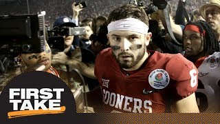 Stephen A. and Max debate Baker Mayfield's NFL draft value   First Take   ESPN