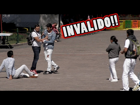 BULLYING A UN INVALIDO (EXPERIMENTO SOCIAL)