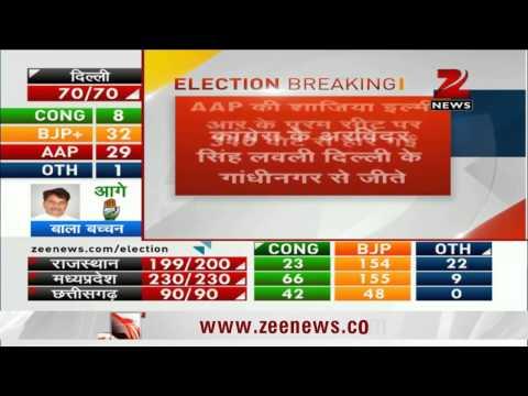 दिल्ली चुनाव में शाजिया इल्मी बीजेपी से हारीं