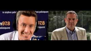 Ο Π.Καμμένος στον RealFM και τον Ν.Χατζηνικολάου 16-5-2012