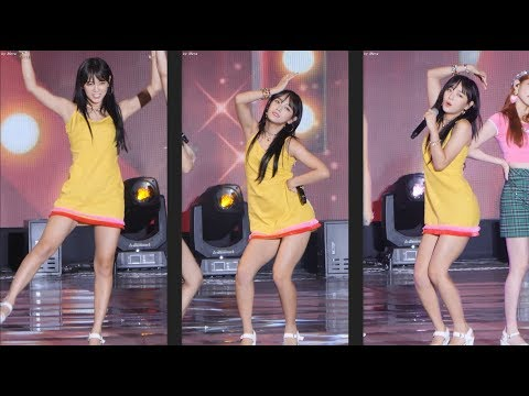 180723 gugudan SEMINA(구구단 세미나) - 'Ruby Heart  [세정] SeJeong 직캠 Fancam (울산 썸머페스티벌) by Mera