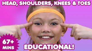 Head Shoulders Knees and Toes   Kids Songs   Nursery Rhymes   Children's Music