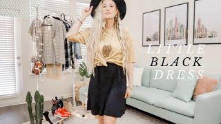How to Style: Little Black Dress | 1 DRESS 5 WAYS | Kenzie's Kloset