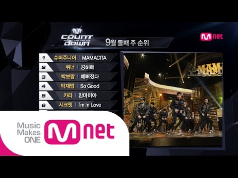 Mnet [엠카운트다운] Ep.393 : TOP10 of the week @M COUNTDOWN_140911