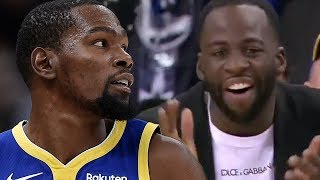 Draymond Green REACTS to Kevin Durant's INSANE 49 Point Game