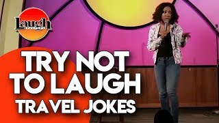 Try Not to Laugh | Travel Jokes | Laugh Factory Stand Up Comedy