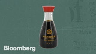 The Soy Sauce Bottle Designed to Bring Happiness