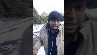 (HD) Snowfall in Auli | Auli Bugyal | Auli Heaven On Earth | Auli Uttrakhand | धरती का स्वर्ग औली |