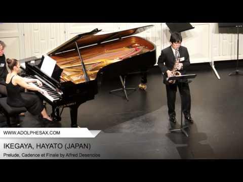 Dinant 2014 - Ikegaya, Hayato - Prelude, Cadence et Finale by Alfred Desenclos