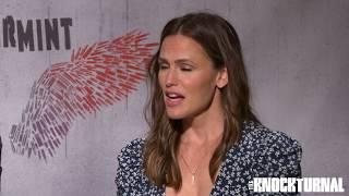 Jennifer Garner and Juan Pablo Raba Talk 'Peppermint'