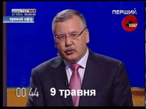 Порошенко копіює виступ Анатолія Гриценка на дебатах