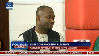 Ekiti Election: Massive Deployment Of Police Will Create Voter Apathy - Itodo | Politics Today |