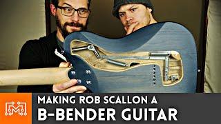 Making A B Bender Guitar for Rob Scallon | I Like To Make Stuff