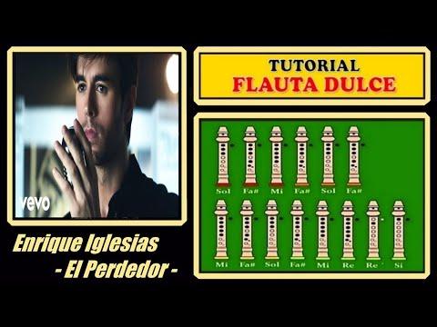 Enrique Iglesias  - El Perdedor en Flauta