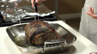 The Secret to Perfectly Cooked Roast Beef