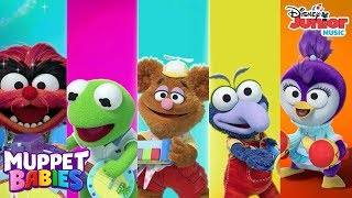 The Muppet Babies' Favorite Music Videos! Compilation | Muppet Babies | Disney Junior