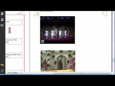 PDF ANCHORING SANDHYA SCRIPT FOR SANGEET