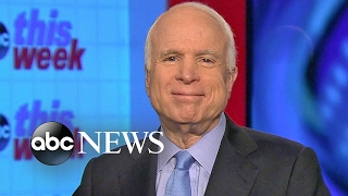 John McCain: Will Vote 'In Favor' of Rex Tillerson