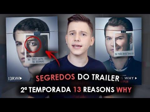 2ª TEMPORADA DE 13 REASONS WHY - Segredos que você NÃO VIU NO TRAILER!