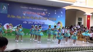 Aerobic-Ước mơ thần tiên, Lớp 1A6 Tiểu học Khương Đình