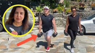 Priyanka Chopra goes against Farah Khan, posts workout vid..
