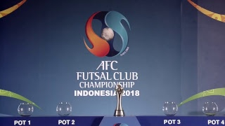 AFC Futsal Club Championship Final Draw