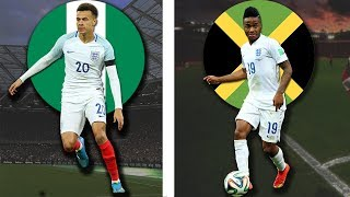 The Original Countries of England National Footballers