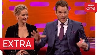Chris Pratt's epic card trick fail - The Graham Norton Show 2016 | Extra - BBC One