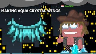 Growtopia | Making Aqua Crystal Wings