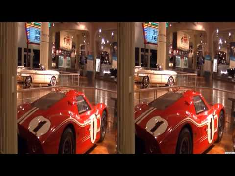 1968 LeMans Winning A.J. Foyt Dan Gurney Ford GT40 MkIV, CarsInDepth.com 3D Video