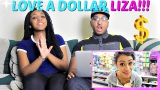 """Liza Koshy """"DOING THIS AGAIN. DOLLAR STORE WITH LIZA PART 2!"""" REACTION!!!"""