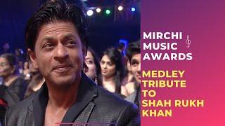 Romantic medley tribute to Shahrukh Khan by Bollywood Singers | Mirchi Music Awards | Radio Mirchi