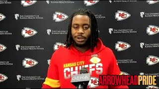 Mike Danna is happy to have landed with the Kansas City Chiefs, sees early growth