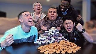 130 Chicken Nuggets in 10 Minutes CHALLENGE!